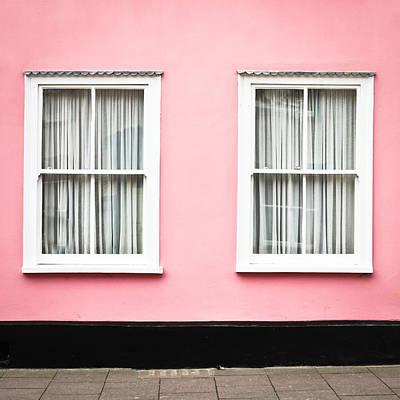 Pink House Print by Tom Gowanlock