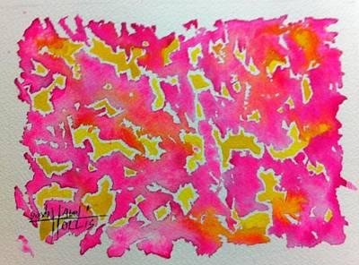 Painting - Pink It by Gayla Abel Hollis