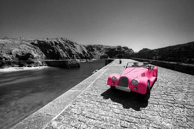 Pink Morgan At Mullion  Print by Rob Hawkins