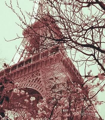Cdkirven Mixed Media - Pink Paris by CD Kirven