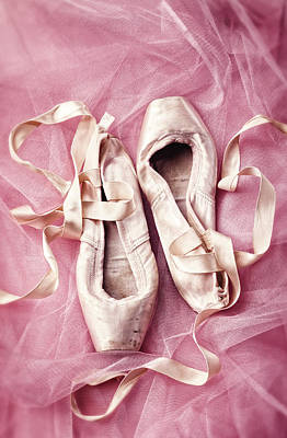 Pink Pirouette Print by Amy Weiss