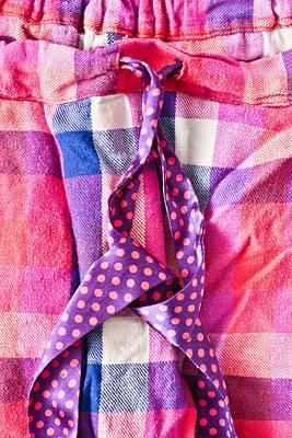 Pink Pyjamas Print by Tom Gowanlock