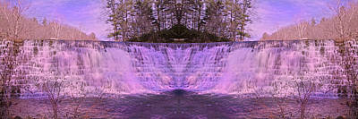 Pink Reflections Print by Betsy C Knapp