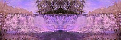 Pink Reflections Print by Betsy Knapp