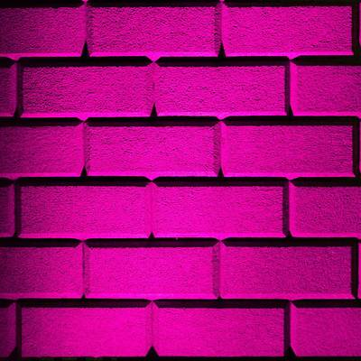 Pink Wall Print by Semmick Photo