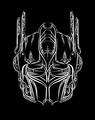 Digital Art - Pinstripe Prime by Vincent Carrozza