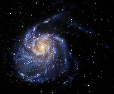 2 Faces Photograph - Pinwheel Galaxy by Robert Gendler