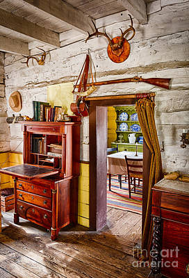 Pioneer Dining Room Print by Inge Johnsson