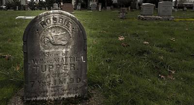 Pioneer Grave Print by Jean Noren