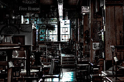 Seattle Photograph - Pioneer Square Antique Store - Seattle Washington by David Patterson