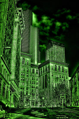 Tourist Attraction Digital Art - Pioneer Square In The Emerald City - Seattle Washington by David Patterson