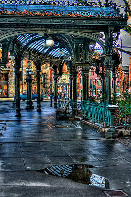 Storefront Photograph - Pioneer Square - Seattle by David Patterson
