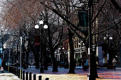 Landmarks Photograph - Pioneer Square Seattle Washington by David Patterson