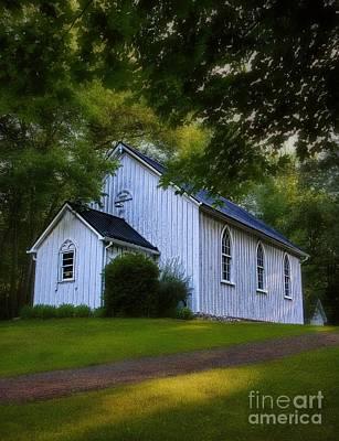 Pioneer - Wilderness Church Print by Henry Kowalski