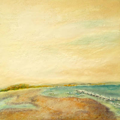 Wax Painting - Pio's Choice by Victoria Primicias