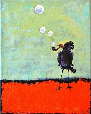 Wishful Thinking Painting - Pipe Dreams by Lisa Kaye