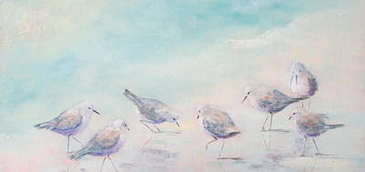 Susan L Richardson Art Painting - Pipers Seven by Susan Richardson