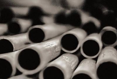 Pipes Print by Arkady Kunysz
