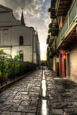 Pirate Alley Print by Greg and Chrystal Mimbs