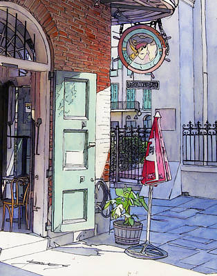 Pirates Alley 161 Print by John Boles