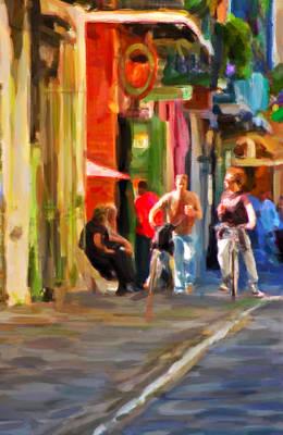Daily Life Digital Art - Pirate's Alley by Steve Harrington