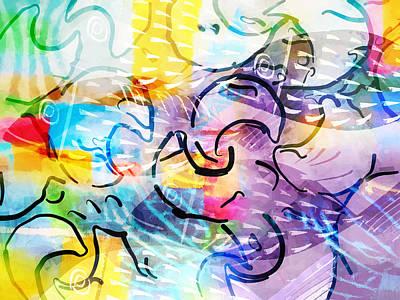 Pisces Print by Lutz Baar