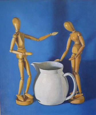 Pitcher And Manikins Original by Lee Bianco