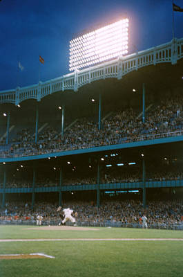 Old Yankee Photograph - Old Yankee Stadium  by Retro Images Archive