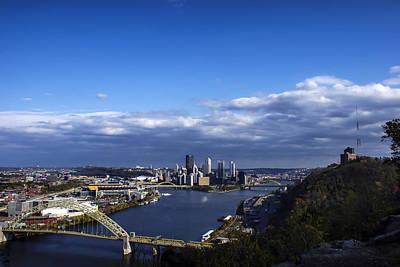 Landscape Photograph - Pittsburgh At Dusk by Michelle Joseph-Long