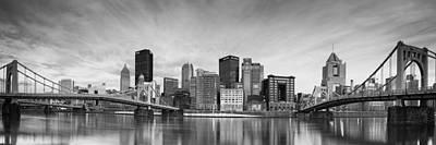 Pittsburgh  North Shore Print by Emmanuel Panagiotakis