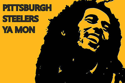 Drum Photograph - Pittsburgh Steelers Ya Mon by Joe Hamilton