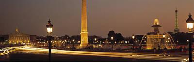 Place De La Concorde Paris France Print by Panoramic Images
