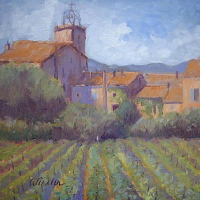 Plan De La Tour Village Original by Linda  Wissler