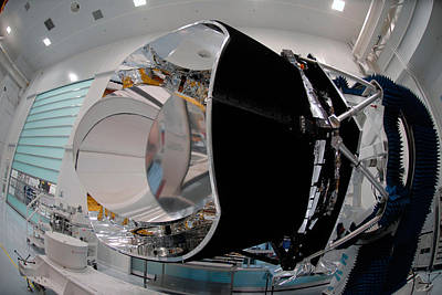 Photograph - Planck Space Observatory Before Launch by Science Source