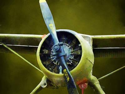 Planes Photograph - Plane - U-6a Beaver by Susan Savad