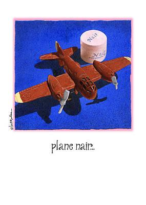 Parody Painting - Plane Nair... by Will Bullas