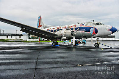 Plane On The Tarmac Print by Paul Ward