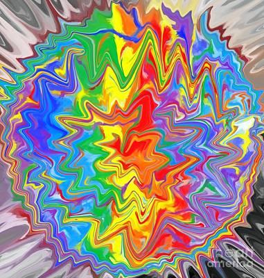 Planet Funk 3 Print by Chris Butler