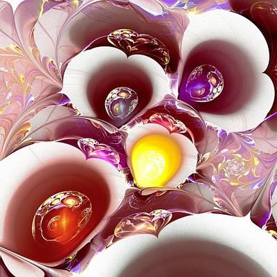 Eggs Digital Art - Planet Nursery by Anastasiya Malakhova