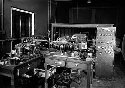 Winthrop Photograph - Plant Physiology Laboratory Equipment by American Philosophical Society