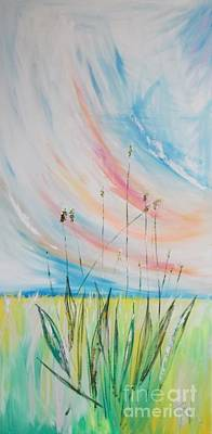 Alternative Medicine Painting - Plantago Lanceolata L Plantain Smalle Weegbree by PainterArtist FIN