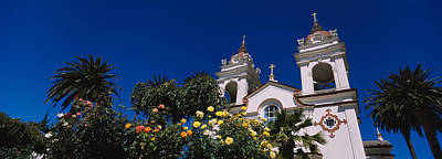 Santa Clara Photograph - Plants In Front Of A Cathedral by Panoramic Images