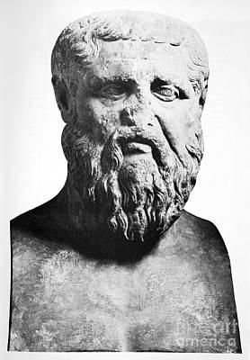 Plato, Ancient Greek Philosopher Print by Spl