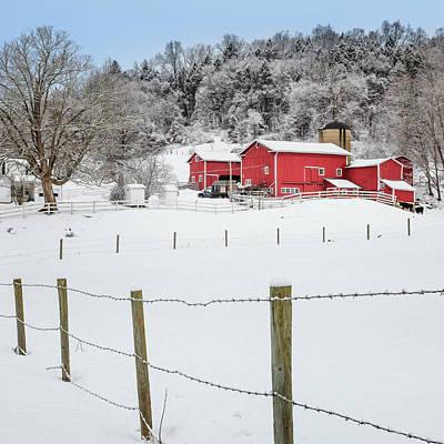 Square Photograph - Platt Farm Square by Bill Wakeley