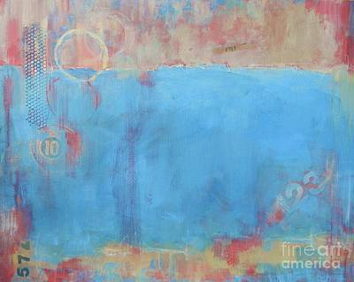Play By Numbers Print by Kate Marion Lapierre
