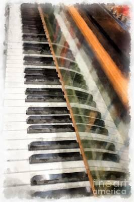 Photograph - Play It Again Sam by Edward Fielding