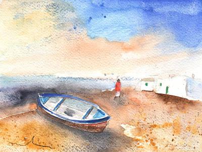 Lanzarote Painting - Playa Honda In Lanzarote 04 by Miki De Goodaboom