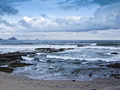 Playa Norte Beach Print by Charrie Shockey