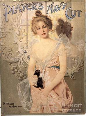 Player Drawing - Player�s Navy Cut 1900s Uk Cigarettes by The Advertising Archives