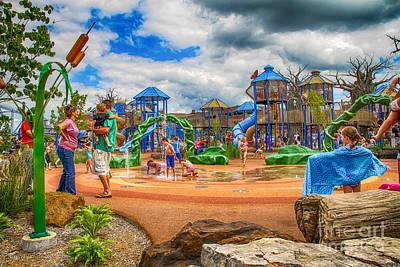Owensboro Kentucky Photograph - Playground by Warrena J Barnerd